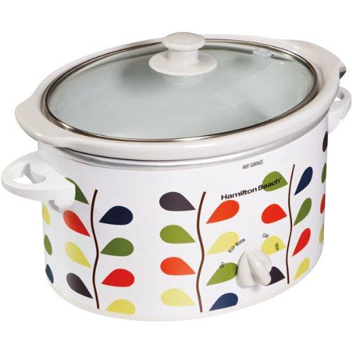 Hamilton Beach 33139 Oval Slow Cooker, 3-Quart / Leaf (Hamilton Beach 3 Qt Crock Pot compare prices)