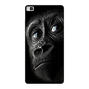Gorgeous King Kong Blue Eyes Back Case Cover for Huawei P8