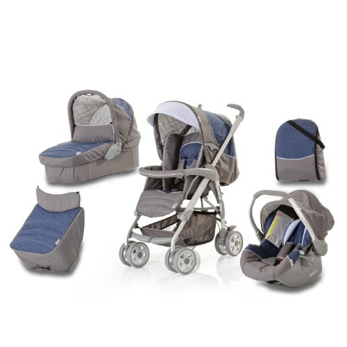 Hauck Condor All In One Stroller Set (Jeans)