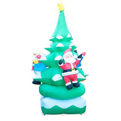 Christmas Tree Sale Black Friday: ** Black Friday Sale ** Holidayana 6FT Animated Spinning