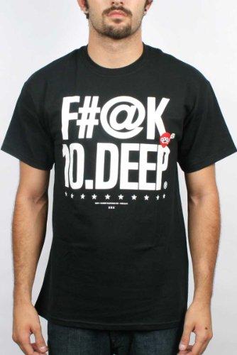 10 Deep - Mens Farg Deep T-Shirt, Tee In Black, Size: X-Large, Color: Black