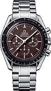 Omega Mens 311.30.42.30.13.001 Speedmaster Brown Dial Watch