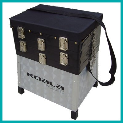 KOALA PRODUCTS Super Alloy 3 Tray Fishing Seat Box