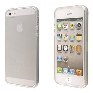 ECENCE Apple iPhone 5 5S Coque de protection housse transparent 21010204