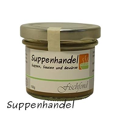 Fischfond - Konzentrat (6,36€ / L), beste Brühe, ohne Geschmacksverstärker, ohne Konservierungsstoffe von Suppenhandel - Gewürze Shop