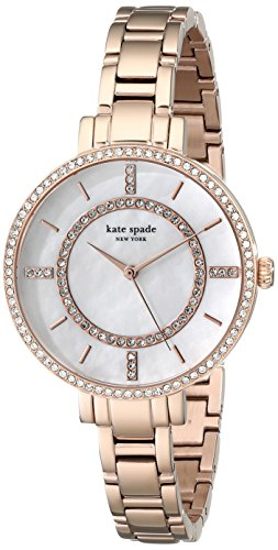 kate spade new york Women's 1YRU0693 Gramercy Analog Display Japanese Quartz Rose Gold Watch