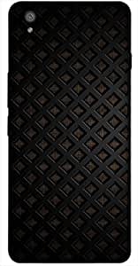 Timpax Protective Armour Case Cover lightweight construction easily slides in and out of pockets. Multicolour Printed Design : Black image.Precisely Design For : OnePlus-X