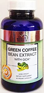 "GREEN COFFEE BEAN EXTRACT WITH GCA EXTRACT 1600 mg Is ""The Miracle Weight Loss"" - Green Coffee Bean Extract Weight Loss Supplement Policy Is 100% Customer Satisfaction or Money Back Guarantee"
