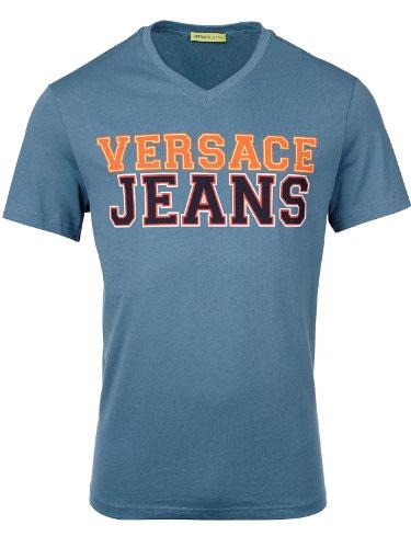 Versace Jeans Couture T-Shirt (M-03-Ts-30561) - 56(DE) / 56(IT) / 56(EU) - blau