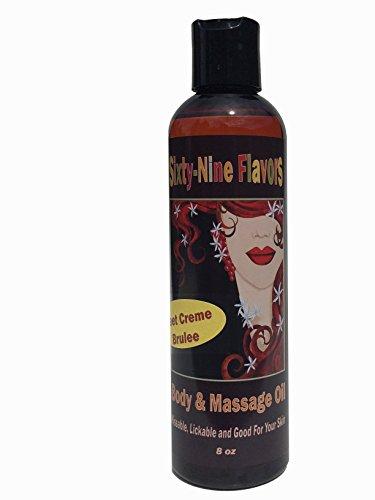 Flavored erotic oil