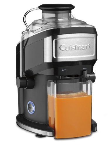 Cuisinart Compact Juice Extractor, Features One Touch Operation, With 16 Ounce Juice Pitcher and Large Feed Tube, Adjustable Flow Spout, BONUS Recipe Booklet Included (Cuisinart Compact Juice compare prices)