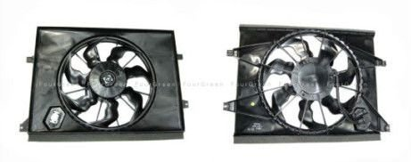 99 00 01 02 Subaru forester 2.5 oem drivers side left oem radiator cooling fan