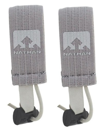 Nathan Nathan Race Number Attachments Clip, Grey, 2-Inch
