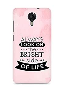 Amez Always look on the Bright Side of Life Back Cover For Micromax Canvas Xpress 2 E313