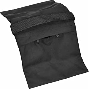 Impact Empty Zippered Sandbag - 15 lb (Black)