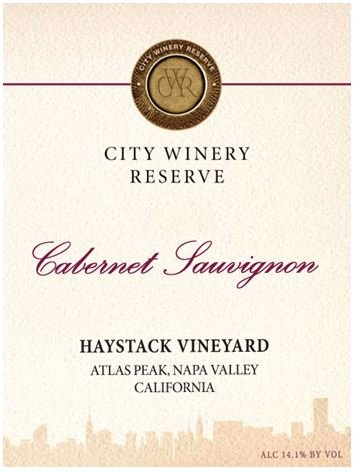2011 City Winery Reserve Cabernet Sauvignon Haystack Peak Vineyard 750 Ml