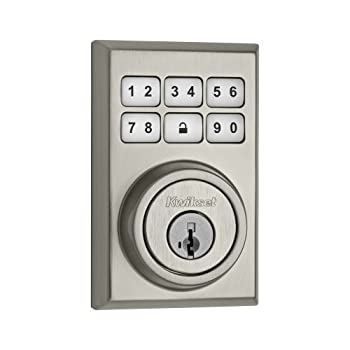 Upgrade to a more convenient, more controllable keyless entry deadbolt with the SmartCode deadbolt from Kwikset. With your own personal code, you can enter your home with just a few simple pushes of a button and lock it with just one. You also get m...