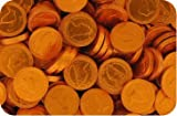 Milk Chocolate Coins 22mm Copper Farthings (pack of 550)