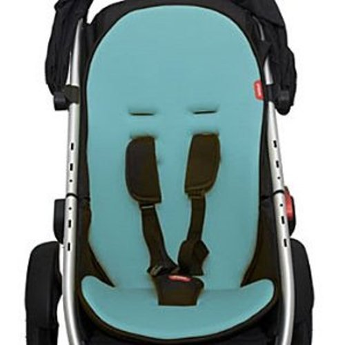phil & teds Cushy Ride - Main Seat - Light Blue - 1