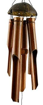 Bamboo wind chimes Fair Trade by 2entertain