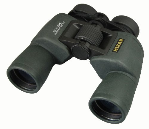 42 Mm Diameter Waterproof Case With Strap Black Bkw-8042 8-Fold Mizar-Tec Porro Prism Binoculars Formula