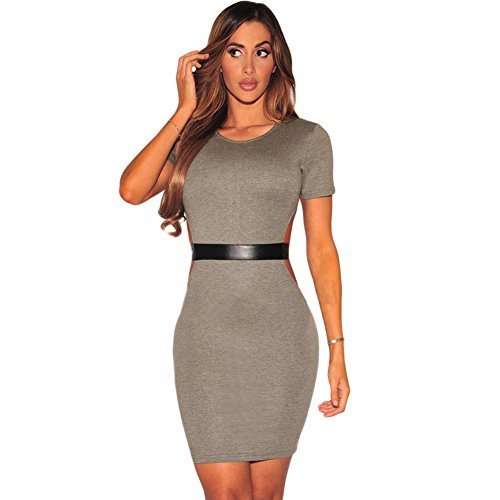 MEINICE -  Vestito  - Donna Grey Medium