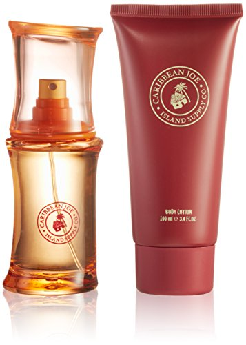 Caribbean Joe Eau De Toilette Spray 50 ml and Body Lotion 100 ml