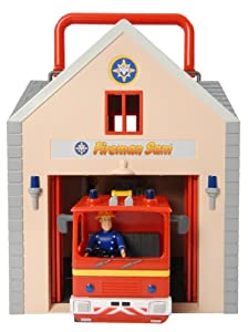 Character Fireman Sam Deluxe Fire Station Playset