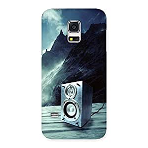 Impressive Speaker Of Snow Back Case Cover for Galaxy S5 Mini