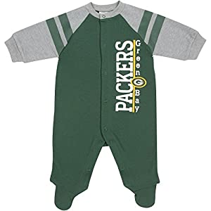 Green Bay Packers Infant Snap Sleeper