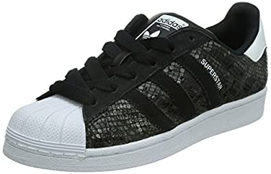 Adidas Superstar Noir Croco