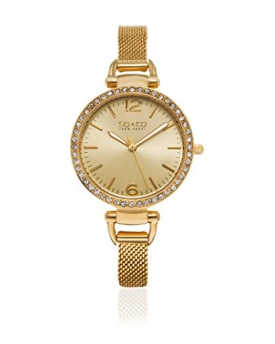 So & Co New York Reloj de cuarzo Gp15536 Dorado