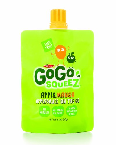GoGo SqueeZ Applesauce Apple Mango 3 2 Ounce Pack of 48