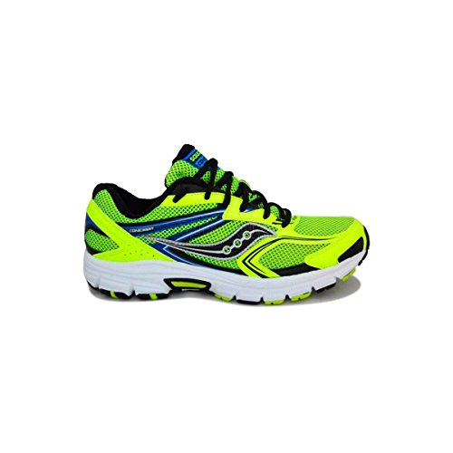 Zapatillas de running SAUCONY COHESION 9 - citron/black/royal, 10.5