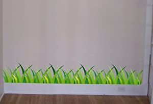 Grass Wall Decal Beautiful Deco Art Sticker Mural from by Digiflare Graphics