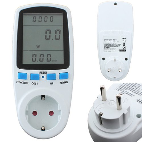 Energy Meter Watt Volt Voltage Electricity Monitor Analyzer,Us Plug