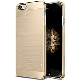 iPhone 6S Plus Case, OBLIQ [Slim Meta] [Champagne Gold] Premium Slim Fit Thin Armor All-Around Shock Resistant Polycarbonate Metallic Case for Apple iPhone 6S Plus (2015) & iPhone 6 Plus (2014)