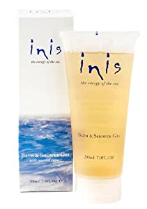 Fragrances of Ireland Inis The Energy of The Sea Seaweed Enriched Bath and Shower Gel, 7 Fluid Ounce