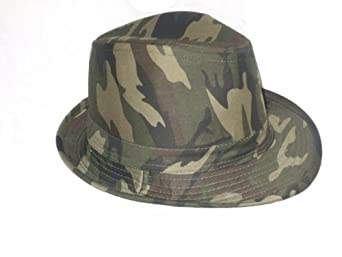 chapeau mixte camouflage