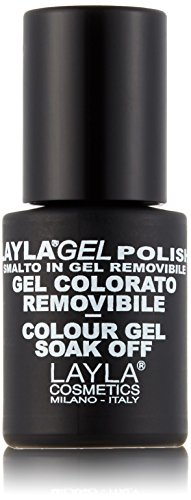 LAYLA COSMETICS discount duty free Layla Cosmetics Layla Gel Nail Polish Colour, Limoncello, 0.01 Litre