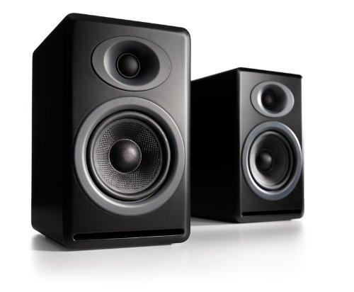 Audioengine P4 Premium Passive Bookshelf Speaker Pair (Black)