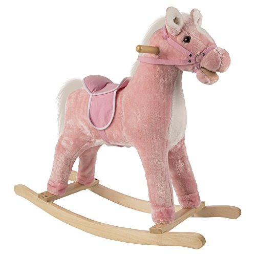 Pink Rocking Horse With Sound