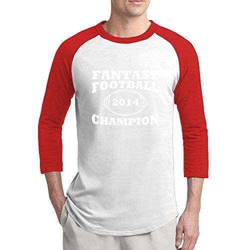 Fantasy Football Champion Man Good Baseball Shirts Sleeve Baseball