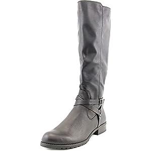 Style & Co Brigyte Wide Calf Women US 5.5 Black Knee High Boot