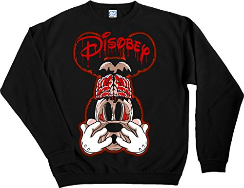 Disobey Black Sweater MCON (S)