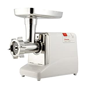 Sunmile 1.3HP 12# UL Electric Meat Grinder SM-G50 350W Rated Power 1000W Max Power w/Stainless Steel Cutting Blade and Stainless Steel Cutting Plates, On/Off /Reset/Reverse Switch, Metal Gear Box, UL Certificated and 1-Year Manufacturer Warranty