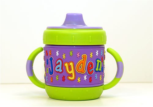 Personalized Sippy Cup: Jayden front-461051