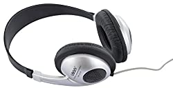 Generic Ubon UB 220 In Air Wired Headphone (Black and Silver)