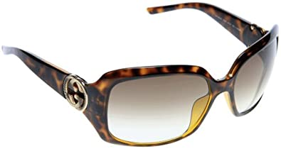 Gucci GG3164/S Sunglasses-0791 Havana (JS Grey Gradient Lens)-61mm