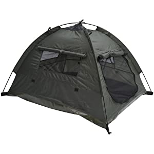 """Pawhut 35"""" x 28"""" Outdoor Camp Pop Up Pet / Dog Camping Tent by Pawhut"""